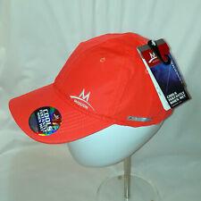 NEW Mission Enduracool Neon Orange Cap Hat Adult Unisex Adjustable Strap NEW