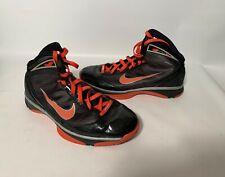 2009 Nike Hyperize black/orange 367181-081 sz 9