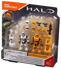 Mega Bloks Halo Mega Construx Spartan Armor Customizer II Pack DXR56