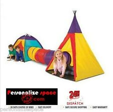 Kids Tent and Teepee Tunnel Play Tent Toys & Hobbies Outdoor Toys AU