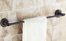 Oil Rubbed Bronze Wall Mounted Bathroom Single Towel Bar Rail Towel Holders