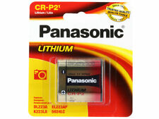 Panasonic CRP2, EL223, K223LA 6.0 volt Lithium Battery