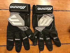 JEREMY BURNITZ MILWAUKEE BREWERS Game Worn Batting Gloves LOA