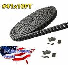 #41 Roller Chain 10 Feet with 2 Connecting Links