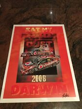 2008 Craig Lowndes Eat My Red Dust Darwin Print