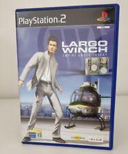 LARGO WINCH - EMPIRE UNDER THREAT in ITALIANO OTTIMO PS2 PLAYSTATION 2