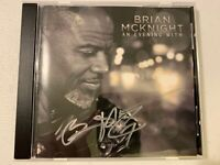 BRIAN MCKNIGHT - AN EVENING WITH BRIAN MCKNIGHT (AUTOGRAPHED) - USED CD
