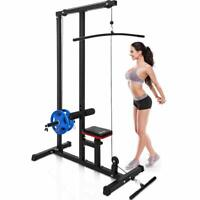 Merax LAT Pulldown Machine Low Row Cable Pull Down Fitness Station Home Gym