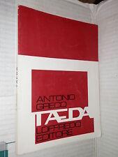 TAEDA Antonio Greco Loffredo 1974 classici latini libro manuale corso di