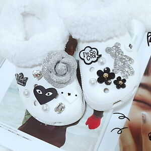 Shoe Dazzler Charms 5 Piece Party Cheers Theme Celebration Shoe Buttons New