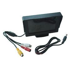 """4.3"""" LCD MONITEUR ECRAN POUR CAMERA DE RECUL VEHICULE WT"""