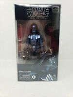 "Star Wars The Black Series 6"" Amazon Excl Carbonized Darth Vader Figureshield"