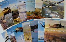 Large Lot Aviation Art Advertising Flyers Artist Nicolas Trudgian 14 Brochures