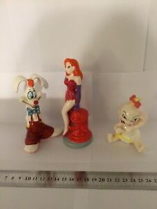 Walt Disney Rogger Rabbit 3 Figurines Purchased At Walt Disney World
