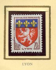 STAMP / TIMBRE FRANCE OBLITERE N° 1181 BLASON LYON