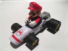 "Mario Kart Wii Carrera Mario Bros Dasher Race 3"" Pull Back Speed Car Toy Vehicle"