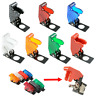 Flip Up Aircraft Style Toggle Switch Waterproof Plastic Safety Cover Cap Guard