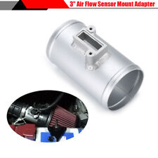 Silver Aluminium Air Flow Sensor Mount Adapter Connector For Honda Ford Nissan