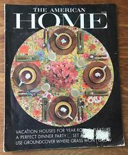 The American Home 1963 Alan Liddle Tucker Sadler Bedar Alpers William Rupp