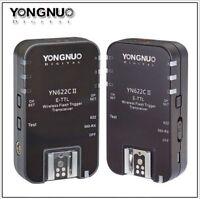 Yongnuo Updated YN-622C II HSS + TTL Wireless Flash Trigger 1/8000 for Canon