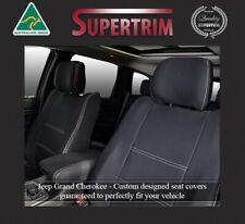 Front Amp Rear Seat Covers Fit Jeep Grand Cherokee Premium Neoprene Waterproof