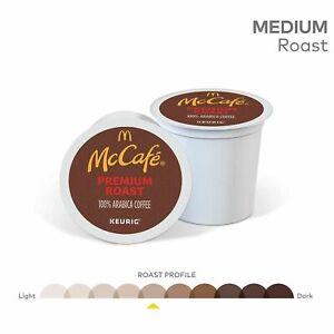 McCafe Premium Roast Coffee K-Cup Pods McDonalds Roast Morning Cup Blend 94 Ct