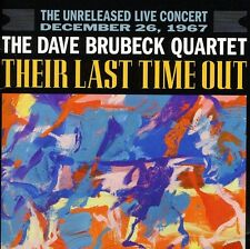 Dave Brubeck - Their Last Time Out [New CD] Brilliant Box