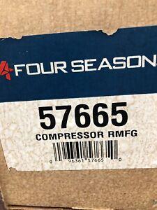 A/C Compressor-Compressor 4 Seasons 57665 Reman NOS