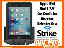 "STRIKE ALPHA APPLE IPAD MINI 4 7.9"" CAR CRADLE OTTERBOX DEFENDER CASE - CHARGER"