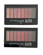 Maybelline New York Lip Studio Lip Color Palette 01 NEW X 2PC