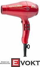 Parlux hairdryer 3800 Eco Friendly red metallic 2100 watts