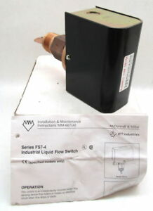 "McDonnell Miller FS7-4 Liquid Flow Switch 1 1/4"" NPT 120/240VAC"
