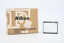 Genuine Nikon F un tipo di schermo di messa a fuoco nella scatola originale V14