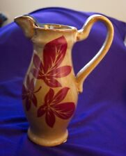 CLAY MINI PITCHER WITH LEAF DESIGN