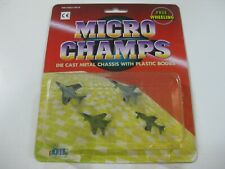 6-VINTAGE DIL MICRO CHAMPS AVIONES-COMPATIBLE CON MICROMACHINE Y TENTE-OLD STOCK