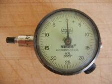 Federal Dial Indicator Gauge B71 0005 Vintage Used