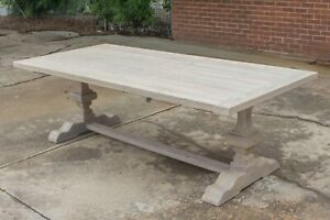 Melania - 2400mm Outdoor Table - Solid Reclaimed Teak Timber