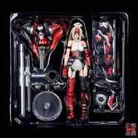 Play Arts Kai Harley Quinn VARIANT Tetsuya Nomura Action Figure Statue Toy 26cm