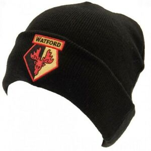 Watford Football Club Beanie Hat Official Licensed Product (bst)