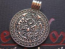 Odin Amulett Silber 925 er + Band + Box Anhänger der Wikinger  / KA 321