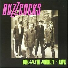 Orgasm Addict Live - Buzzcocks (2012, CD NEUF)