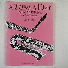 A TUNE A DAY saxophone , book 1