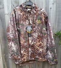 Scent Control Realtree Xtra Camo WATERPROOF Hunting Jacket with Hood - LARGE