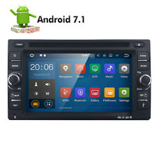 Android 7.1 Double 2 Din Car DVD Player Radio Stereo Head Unit GPS SAT NAV DAB+