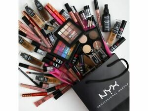 NEW SEALED - Wholesale NYX Mixed Makeup Lot Cosmetics - 25 Assorted Items