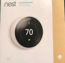 *NEW SEALED* Nest Learning Smart Thermostat 3rd Generation Home Wifi, White