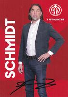 Martin SCHMIDT - Schweiz, FSV Mainz 05 2020/21, Cheftrainer, Original-Autogramm!