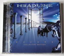 HEADLINE....ESCAPE ...-COLLECTOR  EDITION.. 2(CD)