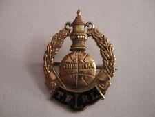 Finale FA Cup 1933 badge football Man City V Everton 9 KT Oro Spilla Pin Badge
