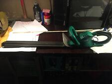 Elektr. Heckenschere ca. 70cm Schwert inkl. Stoßschutz/Aufhängung 60cm Schnitt